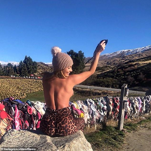 نیوزلند رسم آویزن کردن پستان بند