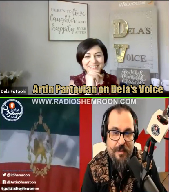 Artin Partovian on Dela's Voice